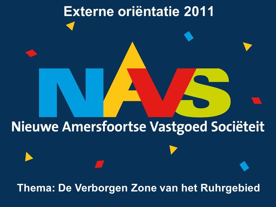 Externe oriëntatie 2011 Thema: De Verborgen Zone van het Ruhrgebied