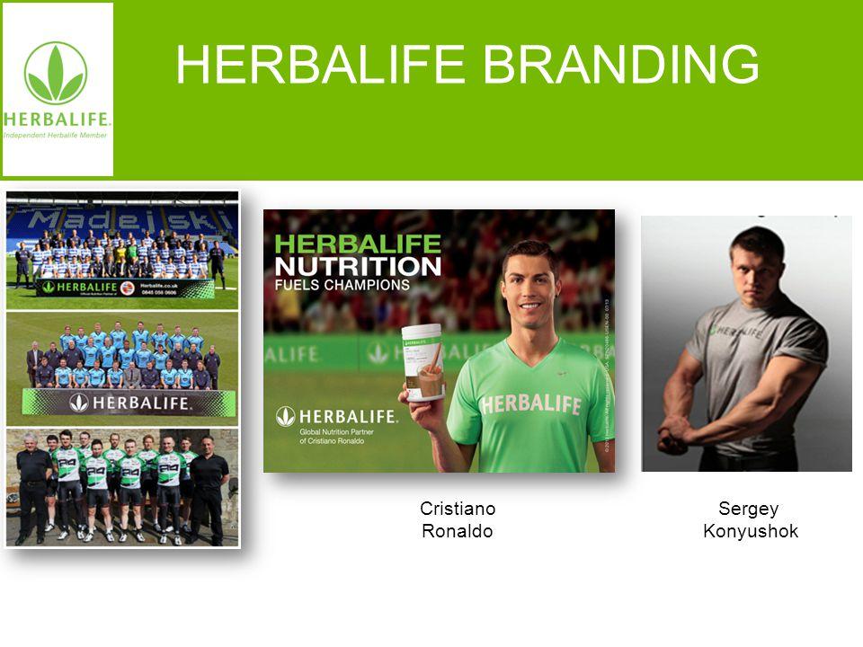 Voeding voor een beter leven HERBALIFE BRANDING Sergey Konyushok Cristiano Ronaldo