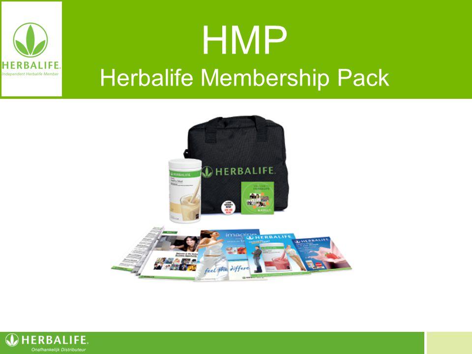 Voeding voor een beter leven HMP Herbalife Membership Pack