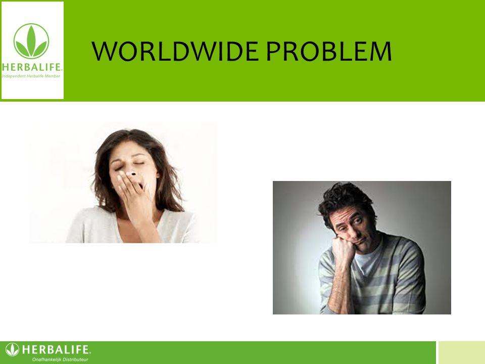 Voeding voor een beter leven WORLDWIDE PROBLEM