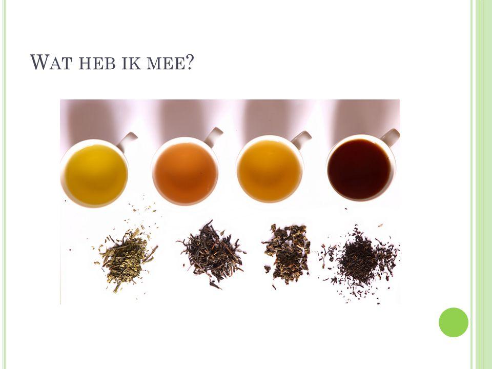 H OOFDSTUK 7.VRAGEN 1. Wie heeft de thee uitgevonden.
