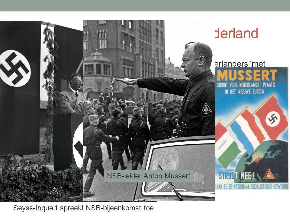 Verloop Duitse bezetting van Nederland Eerste fase: 1940-1942 Duits bestuur (o.l.v.