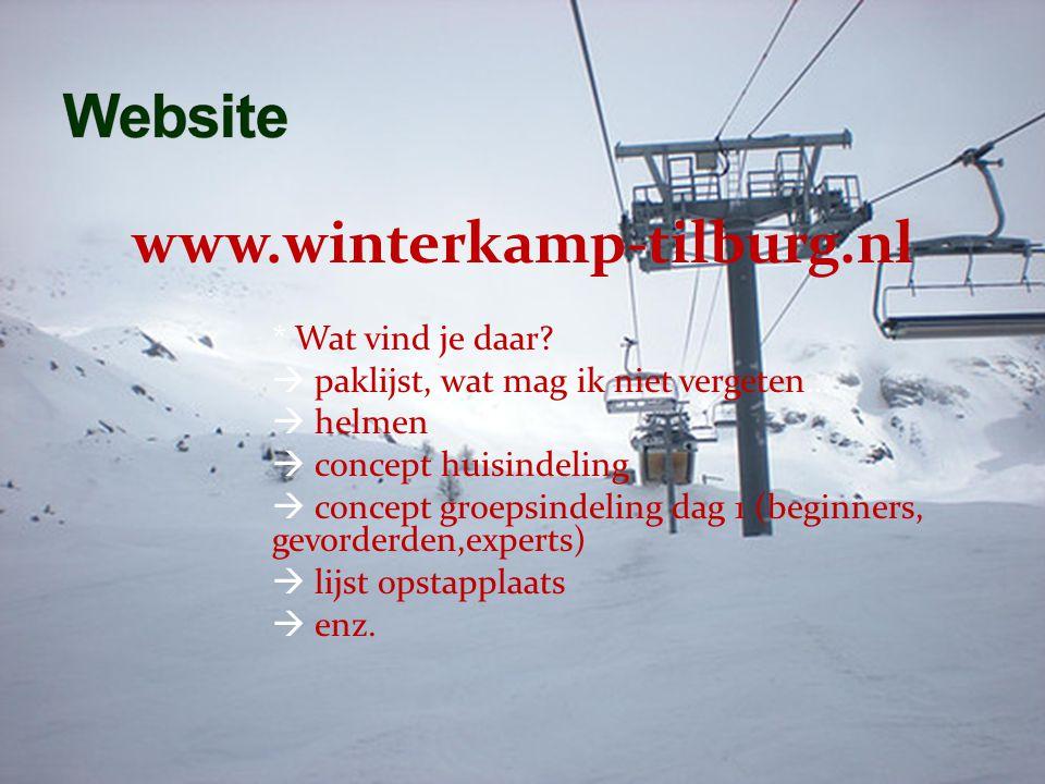 www.winterkamp-tilburg.nl * Wat vind je daar.
