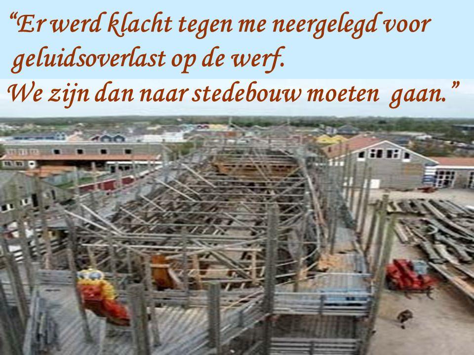 Mijn buur hier in Mechelen,Bart Somers, beweerde dat ik de bouwlijn had overschreden en de maximumhoogte niet respecteerde.