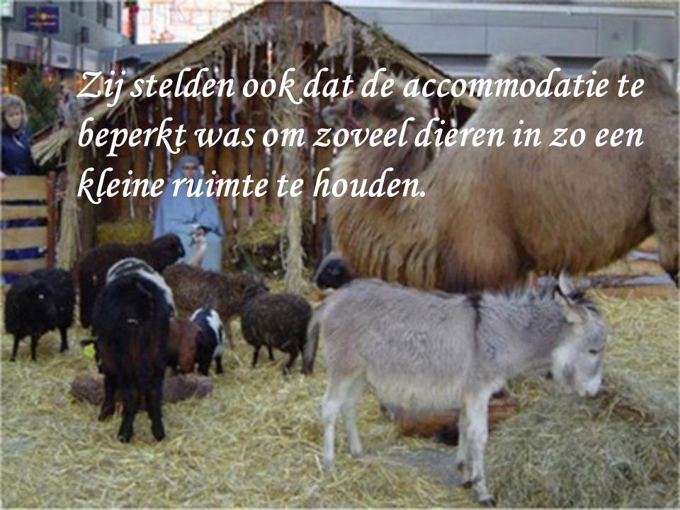 Toen ik de dieren wilde verzamelen kreeg ik het aan de stok met Michel ven den Bossche.