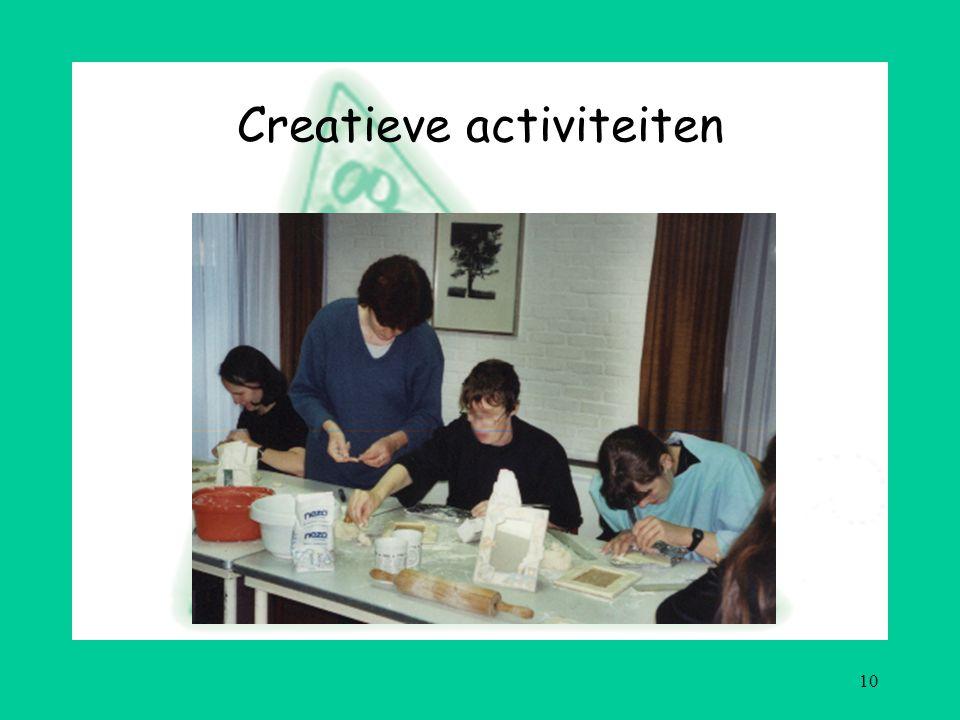 10 Creatieve activiteiten
