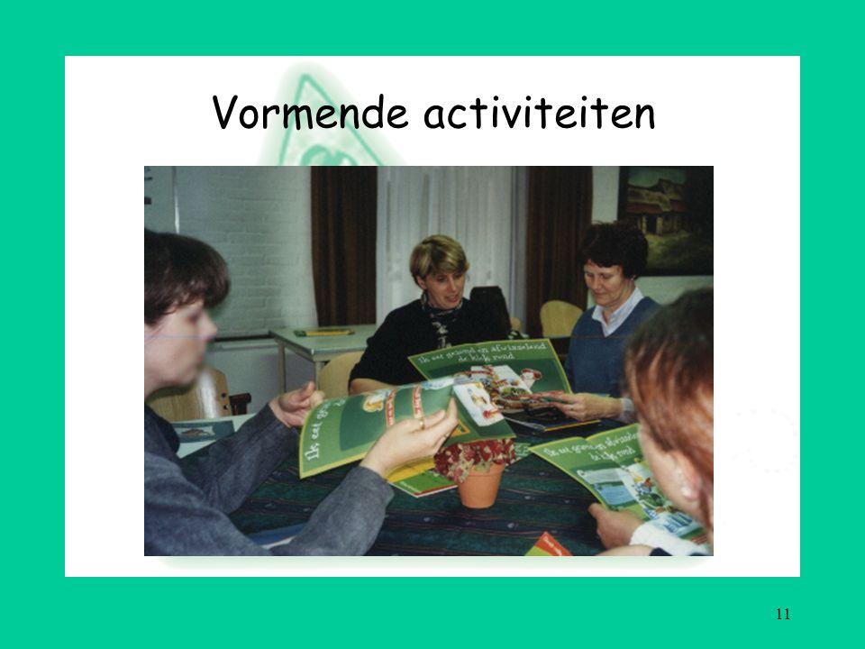 11 Vormende activiteiten