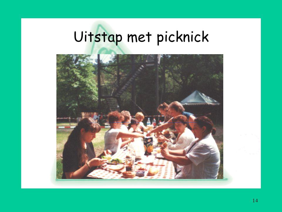 14 Uitstap met picknick