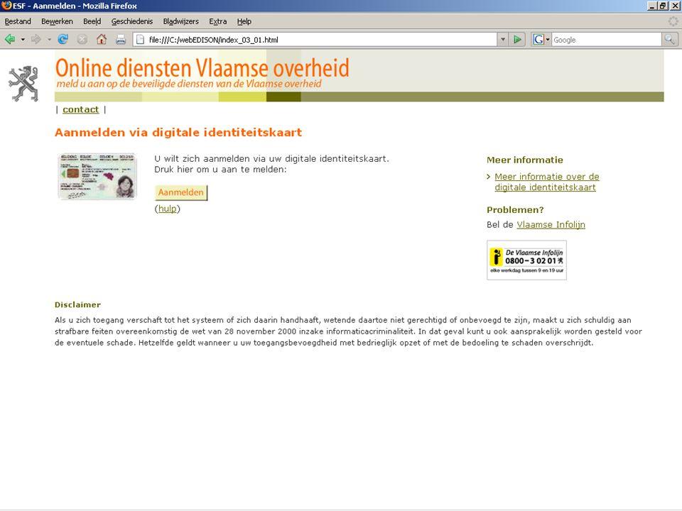 13 juni 2007 infosessie softwareleveranciers Beleidsdomein Onderwijs en Vorming18