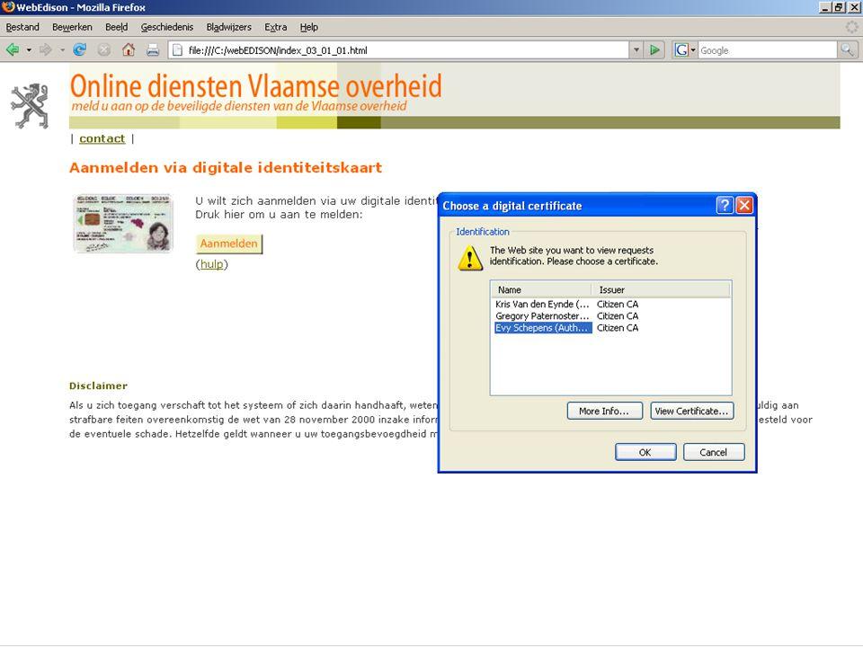 13 juni 2007 infosessie softwareleveranciers Beleidsdomein Onderwijs en Vorming19
