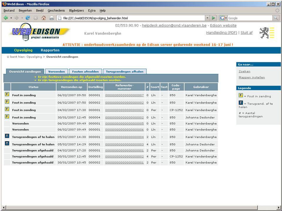 13 juni 2007 infosessie softwareleveranciers Beleidsdomein Onderwijs en Vorming21