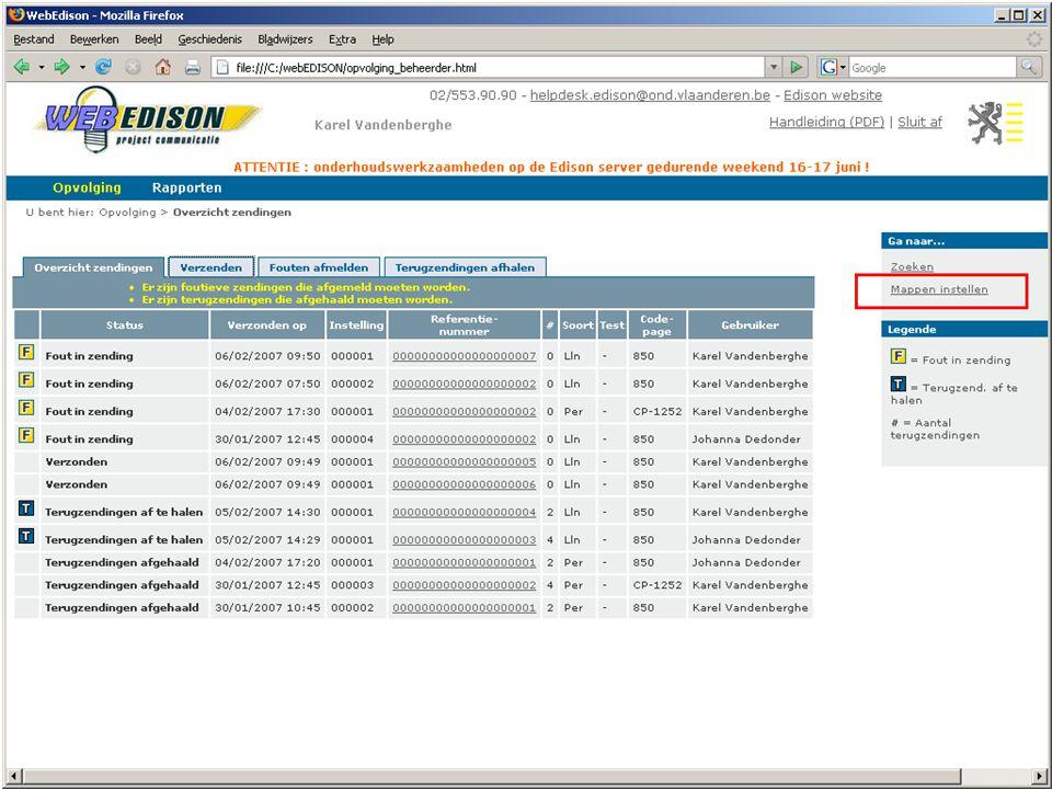 13 juni 2007 infosessie softwareleveranciers Beleidsdomein Onderwijs en Vorming25