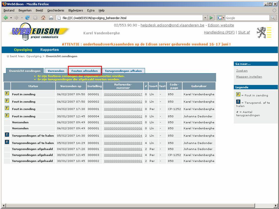 13 juni 2007 infosessie softwareleveranciers Beleidsdomein Onderwijs en Vorming33