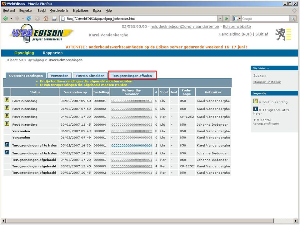 13 juni 2007 infosessie softwareleveranciers Beleidsdomein Onderwijs en Vorming35