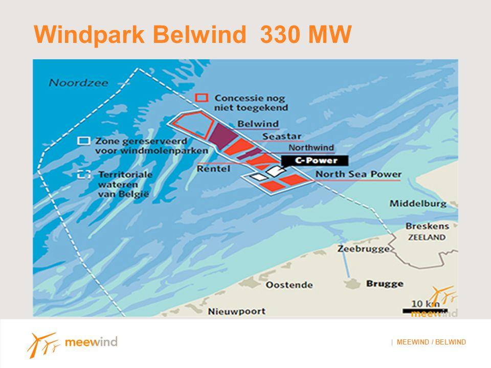 Windpark Belwind 330 MW ------------------------------------------------------------------------------------------------------- | MEEWIND / BELWIND