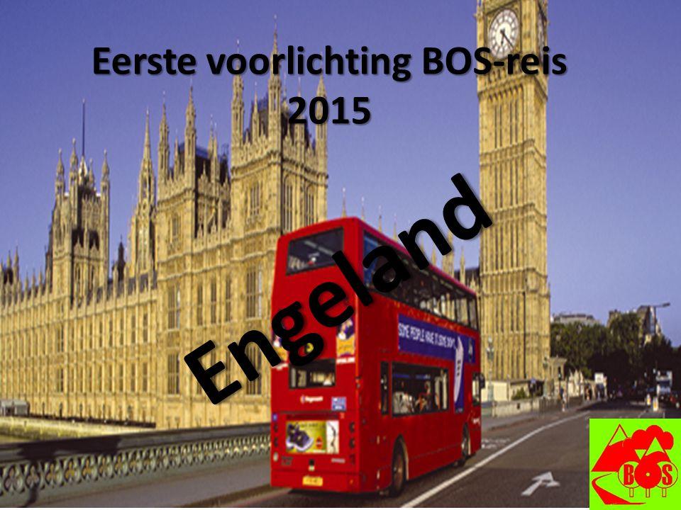 Eerste voorlichting BOS-reis 2015 Engeland