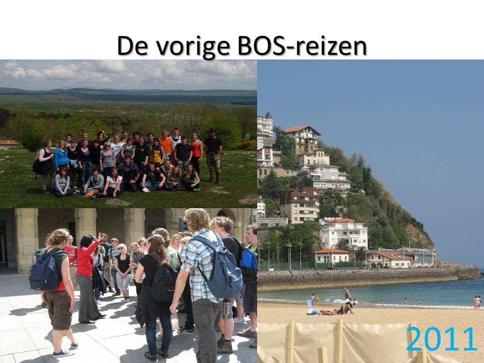 De vorige BOS-reizen 2011