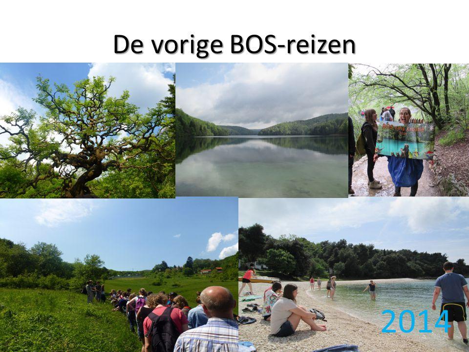 De vorige BOS-reizen 2014