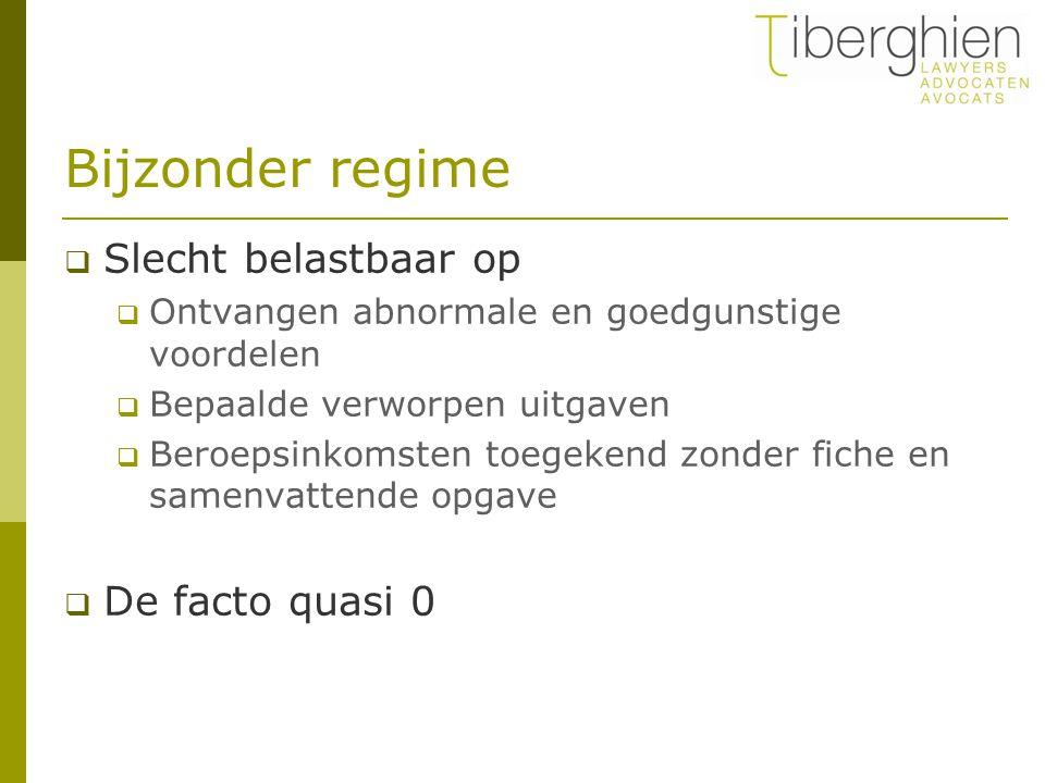 Bronheffing in België  Geen algemene vrijstelling  Maar verrekenbaar met de vpb  Terugbetaalbaar  Dus op het einde van de rit: 0  Let op: geen verrekening of credit voorbuitenlandse belasting