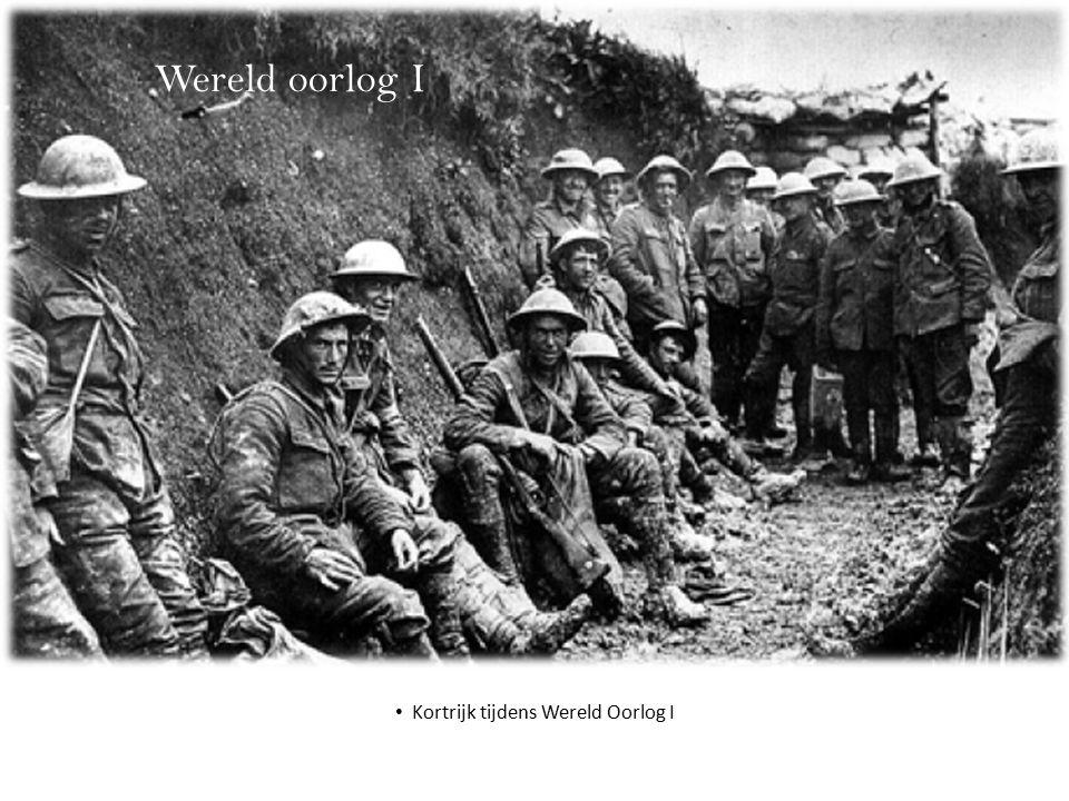 Wereld oorlog I Kortrijk tijdens Wereld Oorlog I