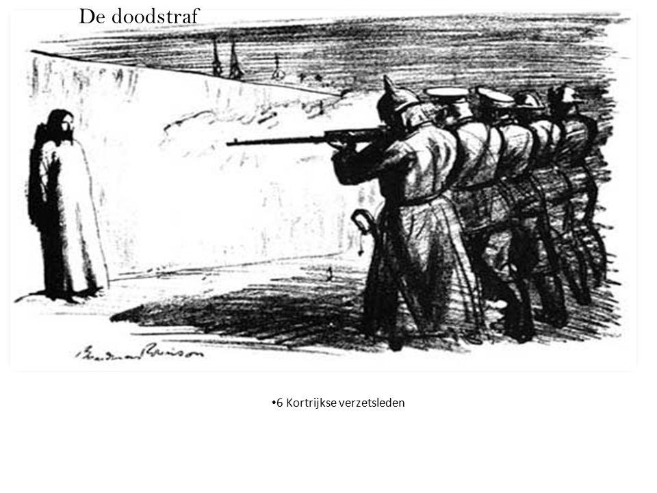 De doodstraf 6 Kortrijkse verzetsleden