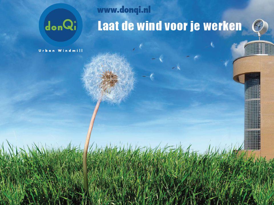 DonQI 26 maart 2009 – Vincent Wegener & Robert Snijder Agenda Achtergrond Windenergie Kleine Windmolens & Gemeentes Oprichters donQi donQi Urban Windmill