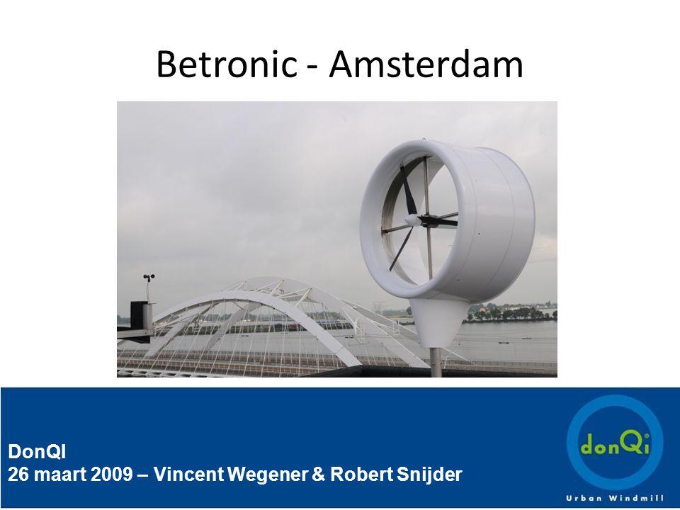 DonQI 26 maart 2009 – Vincent Wegener & Robert Snijder Betronic - Amsterdam