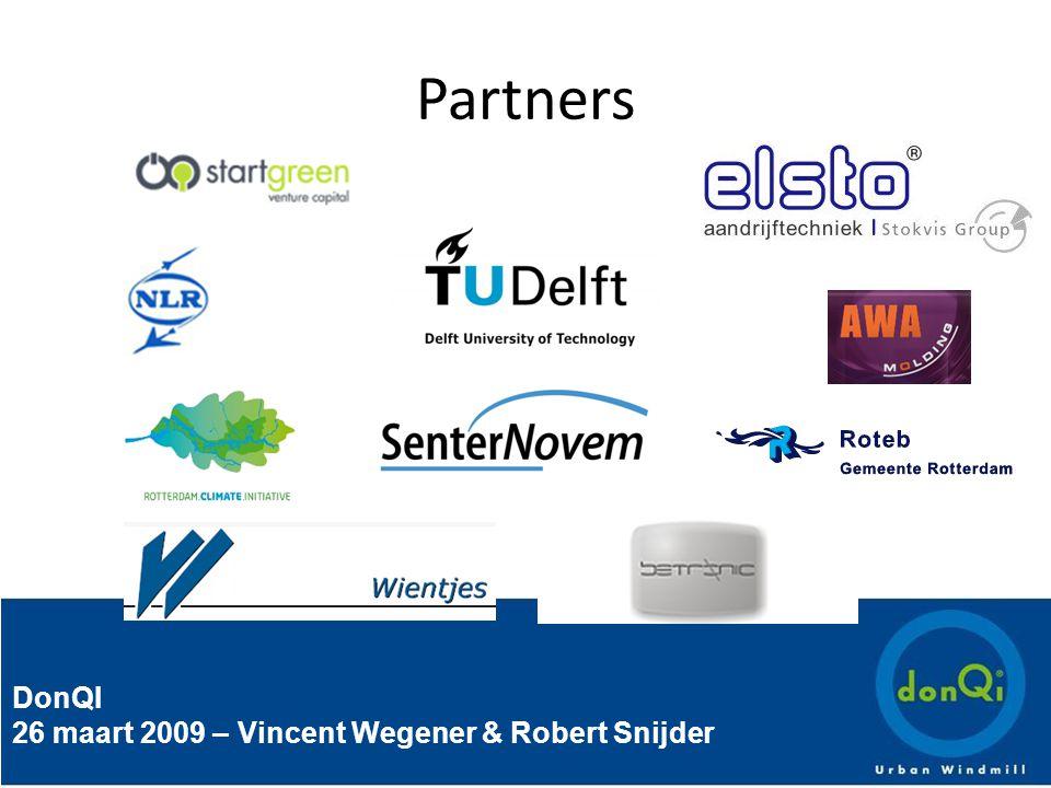 DonQI 26 maart 2009 – Vincent Wegener & Robert Snijder Partners