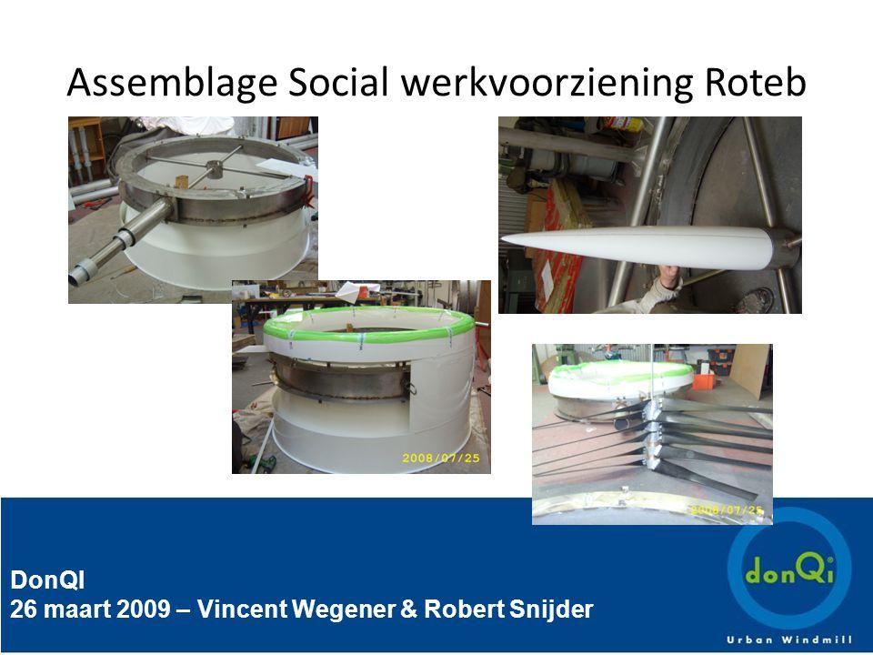 DonQI 26 maart 2009 – Vincent Wegener & Robert Snijder Assemblage Social werkvoorziening Roteb