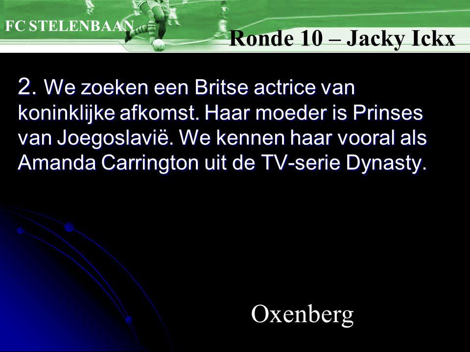 2. We zoeken een Britse actrice van koninklijke afkomst.