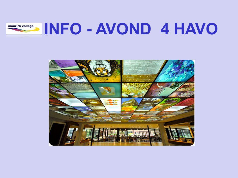 INFO - AVOND 4 HAVO