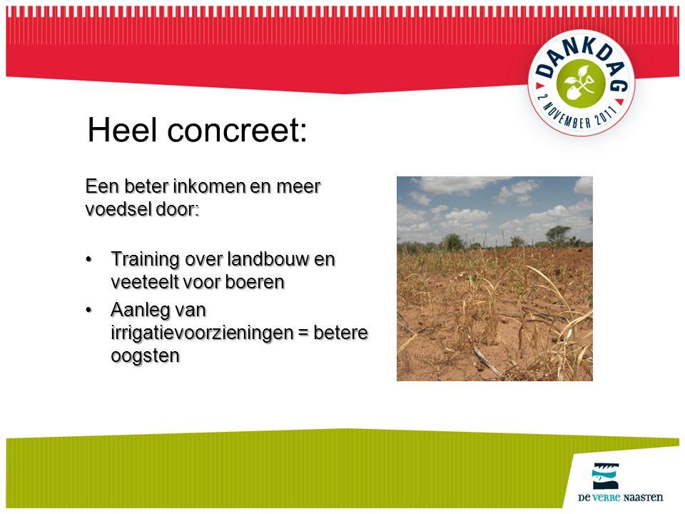 Heel concreet: Een beter inkomen en meer voedsel door: Training over landbouw en veeteelt voor boerenTraining over landbouw en veeteelt voor boeren Aa