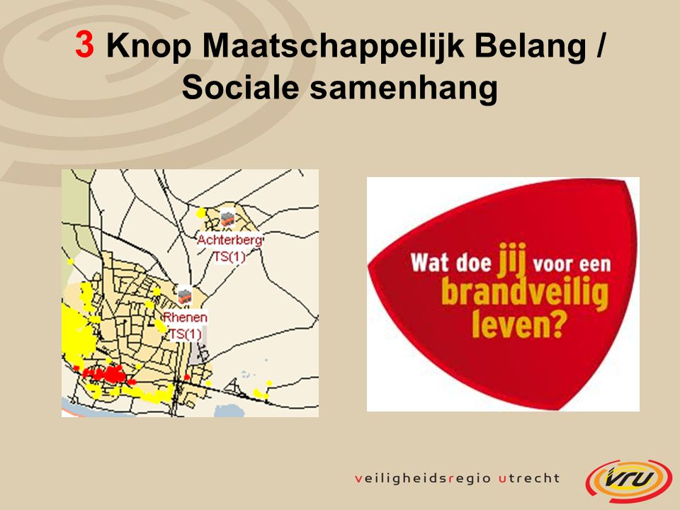 3 Knop Maatschappelijk Belang / Sociale samenhang