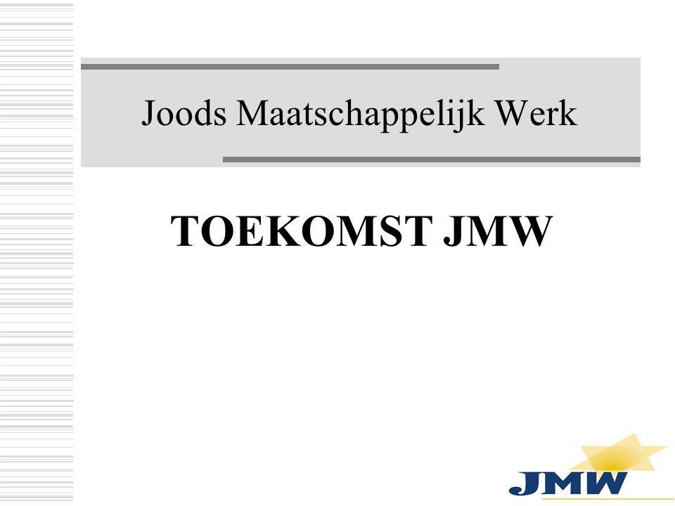 Joods Maatschappelijk Werk TOEKOMST JMW