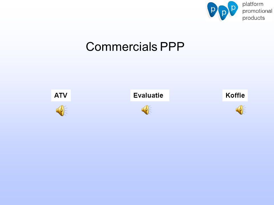 Commercials PPP ATV Evaluatie Koffie