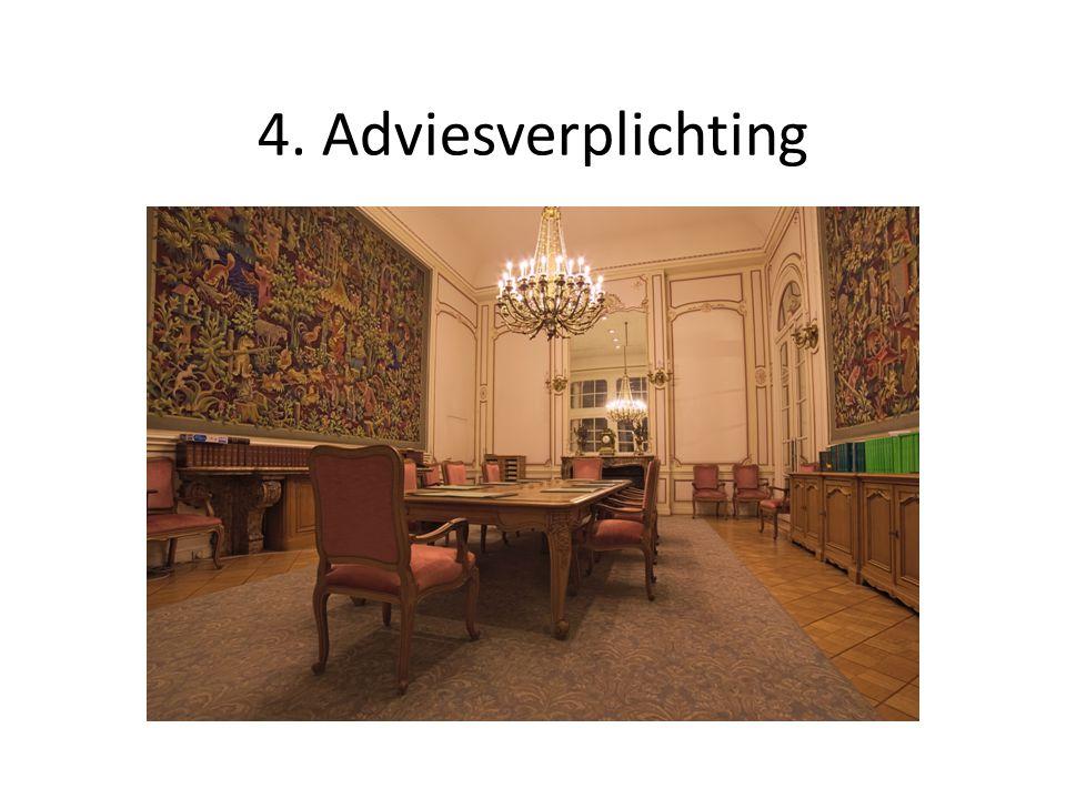 4. Adviesverplichting