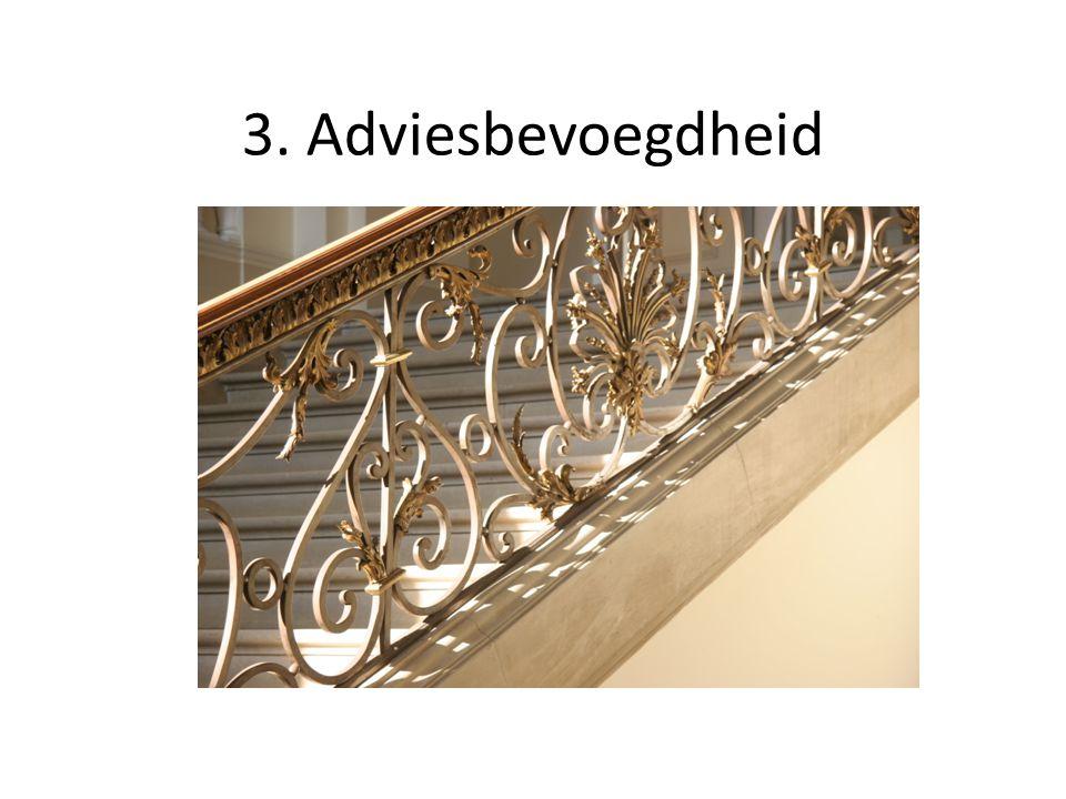 3. Adviesbevoegdheid