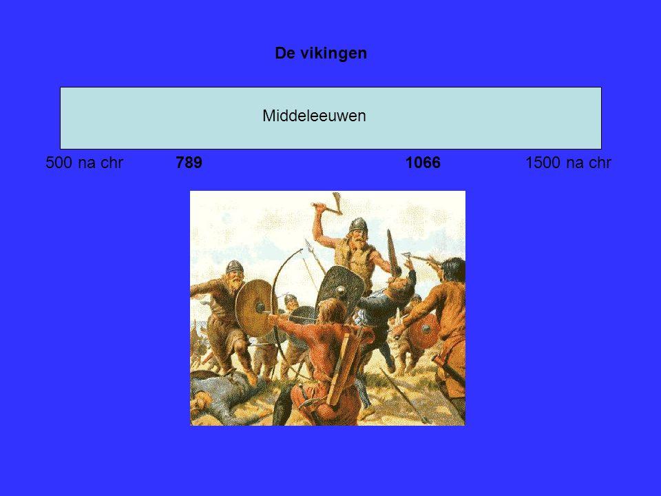 Middeleeuwen 500 na chr1500 na chr De vikingen 7891066