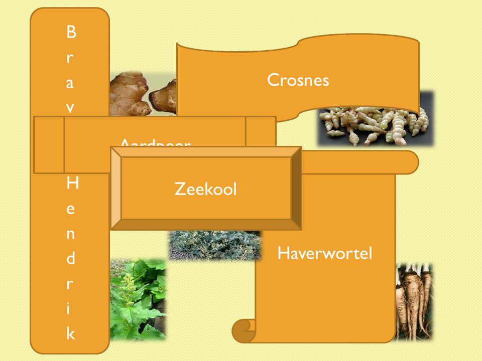 Haverwortel Crosnes Aardpeer Zeekool