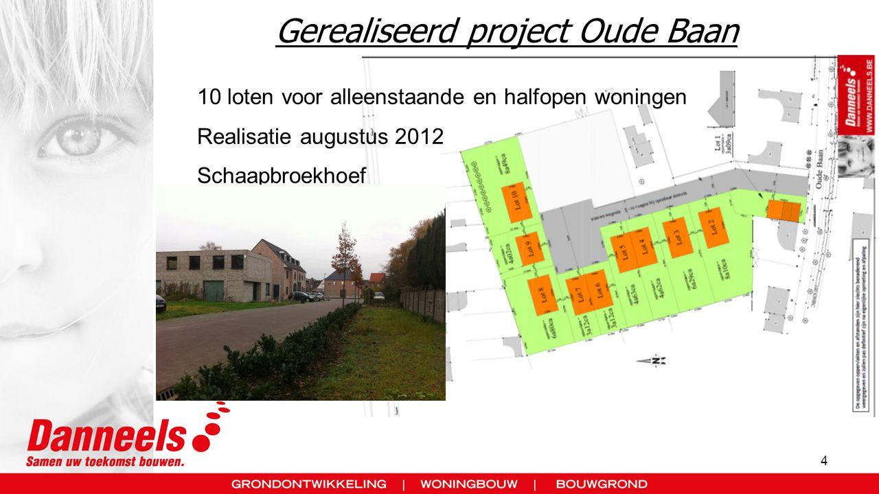 5 Project Putsesteenweg Bonheiden