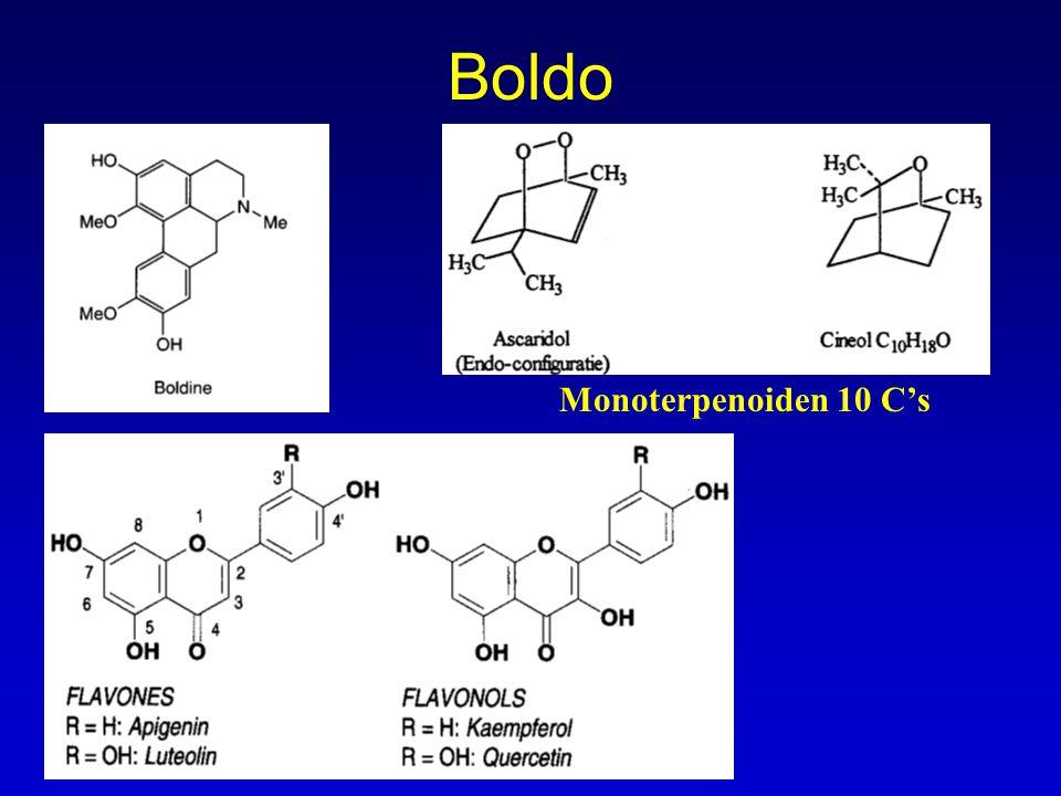 Boldo Monoterpenoiden 10 C's