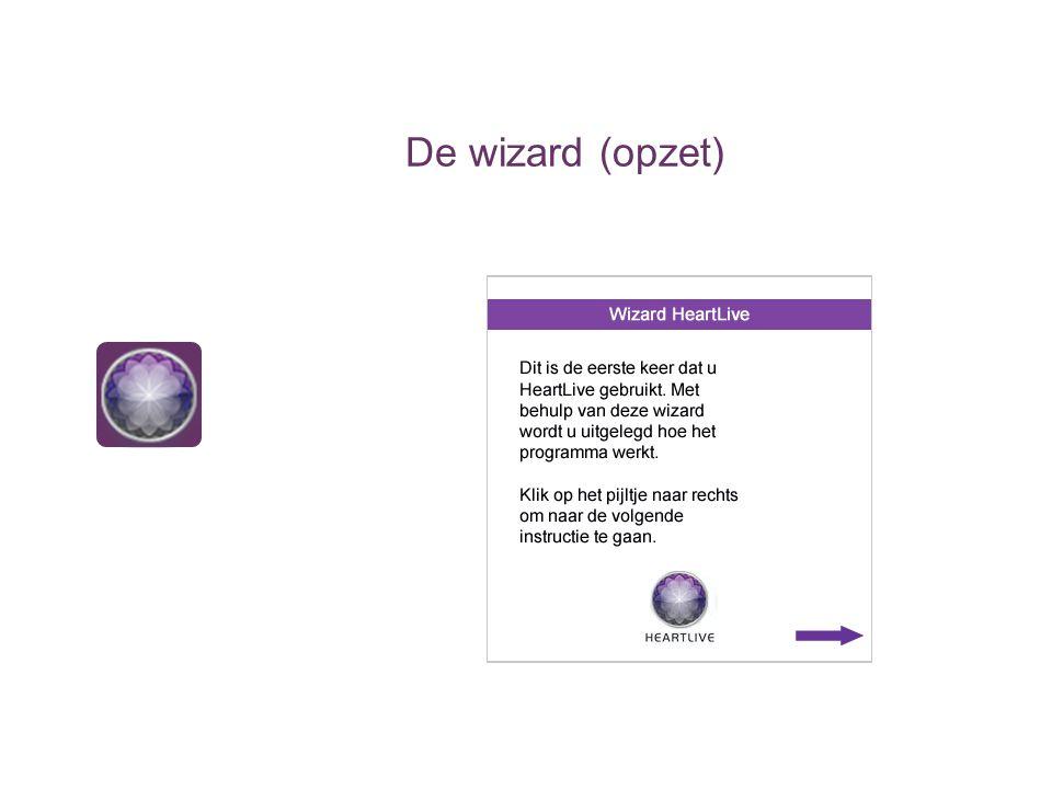 De wizard (opzet)