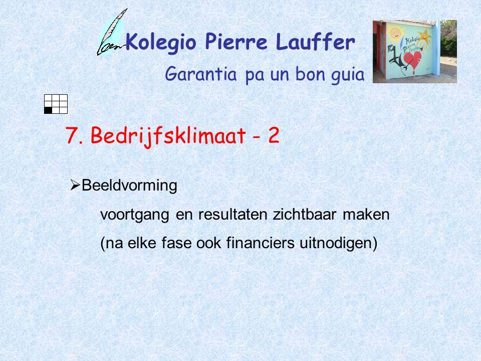 Kolegio Pierre Lauffer Garantia pa un bon guia 7.