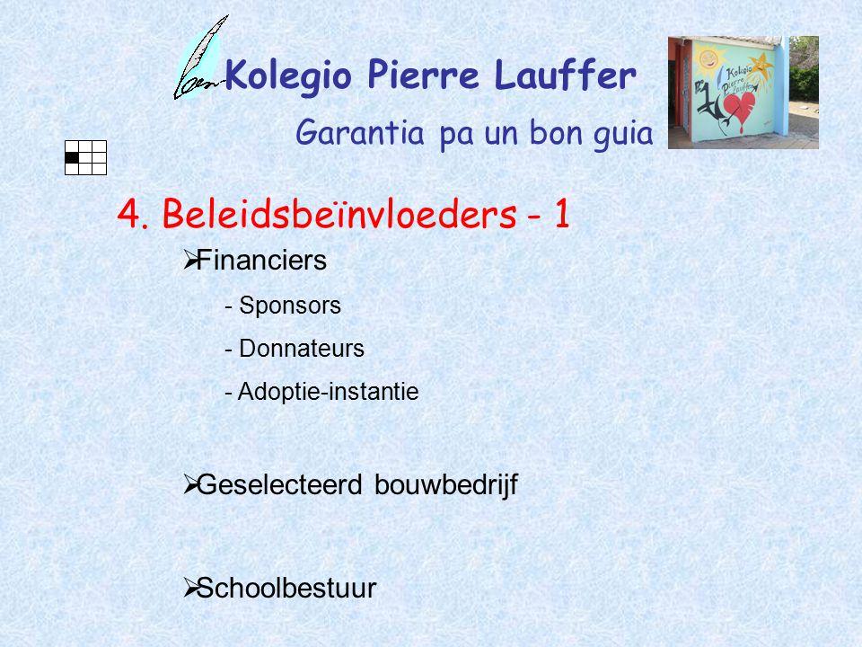 Kolegio Pierre Lauffer Garantia pa un bon guia 4.