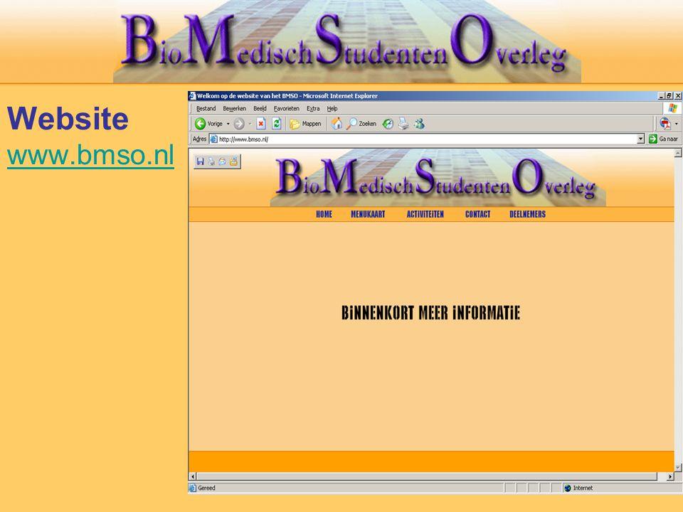 Website www.bmso.nl www.bmso.nl