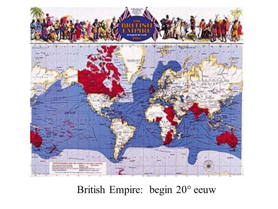 British Empire: begin 20° eeuw