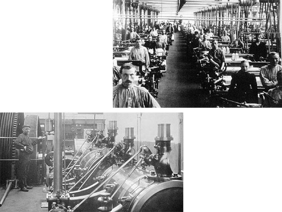1.Revolutie A. TechniekJames Watt: Stoommachine (ca.