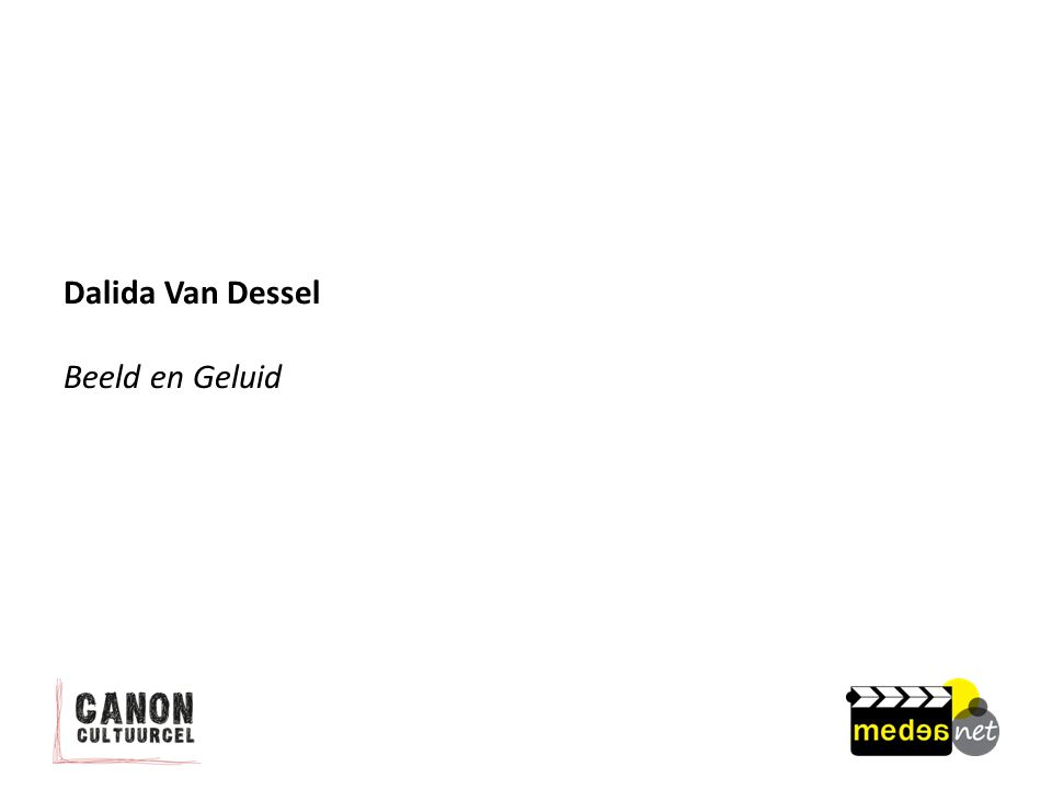 Dalida Van Dessel Beeld en Geluid