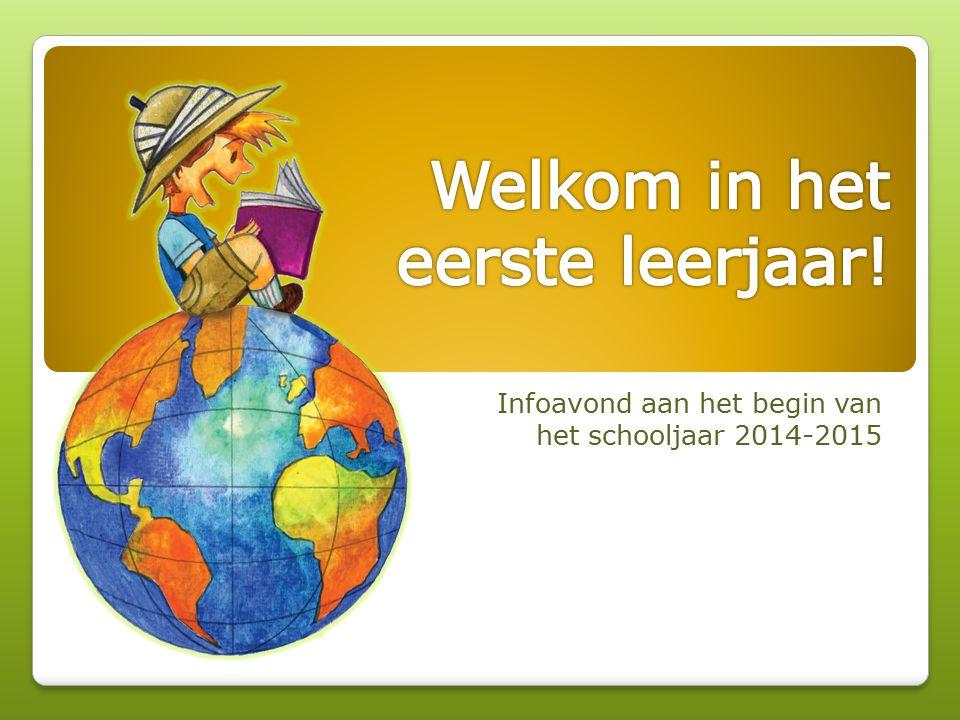 Infoavond aan het begin van het schooljaar 2014-2015