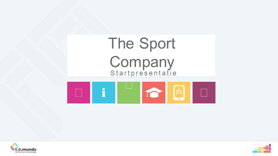 The Sport Company Startpresentatie